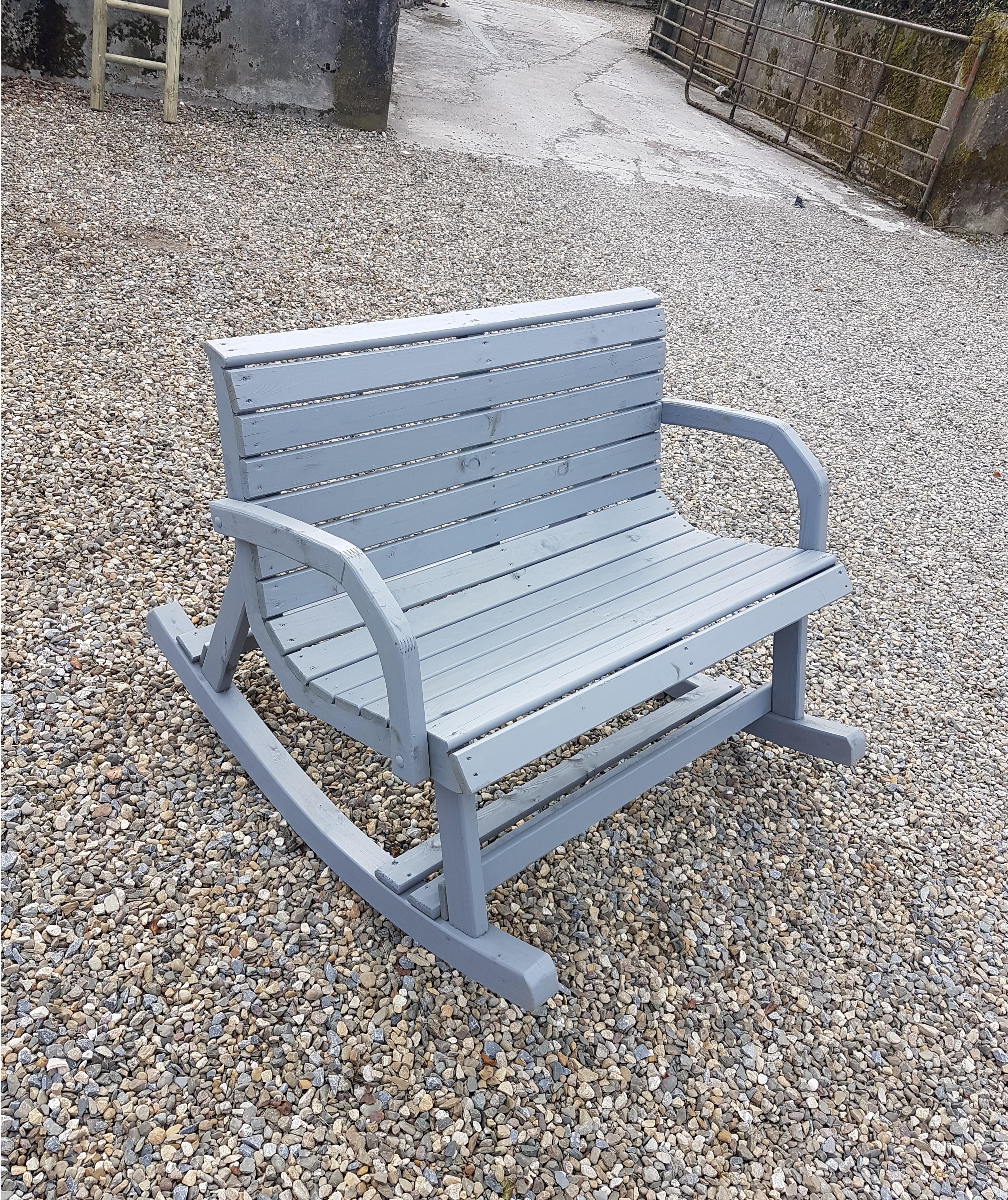Garden Rocking Double Chair